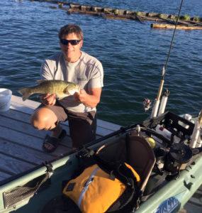 Rocky Kayak Fishing